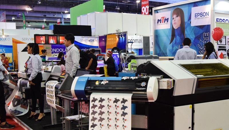 Impresión de alta precisión en Expo Publicitas 2018