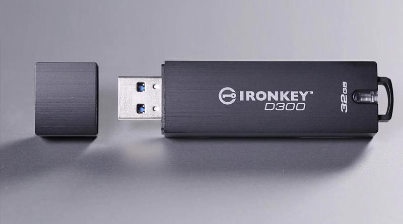 IronKey D300 encriptado y con número de serie