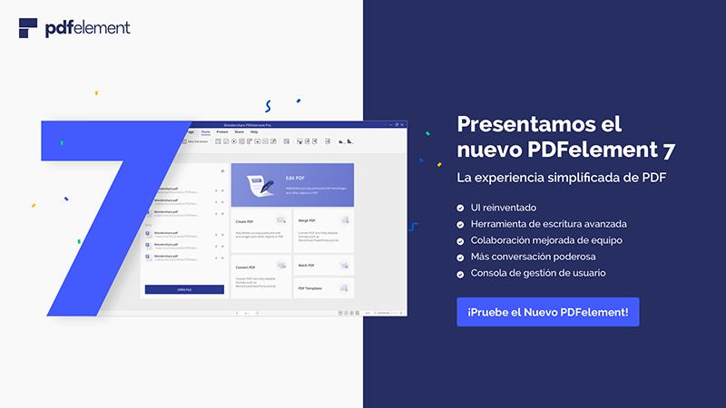 PDFelement, solución a problemas frecuentes con PDF