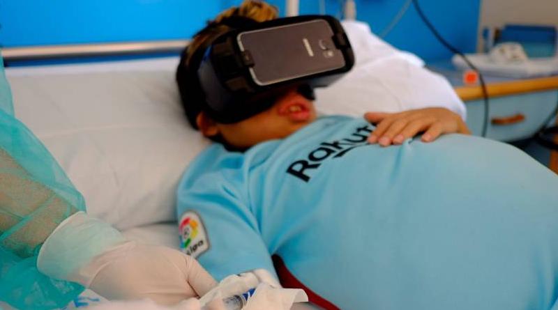Lenovo muestra el poder de la Realidad Virtual en niños hospitalizados